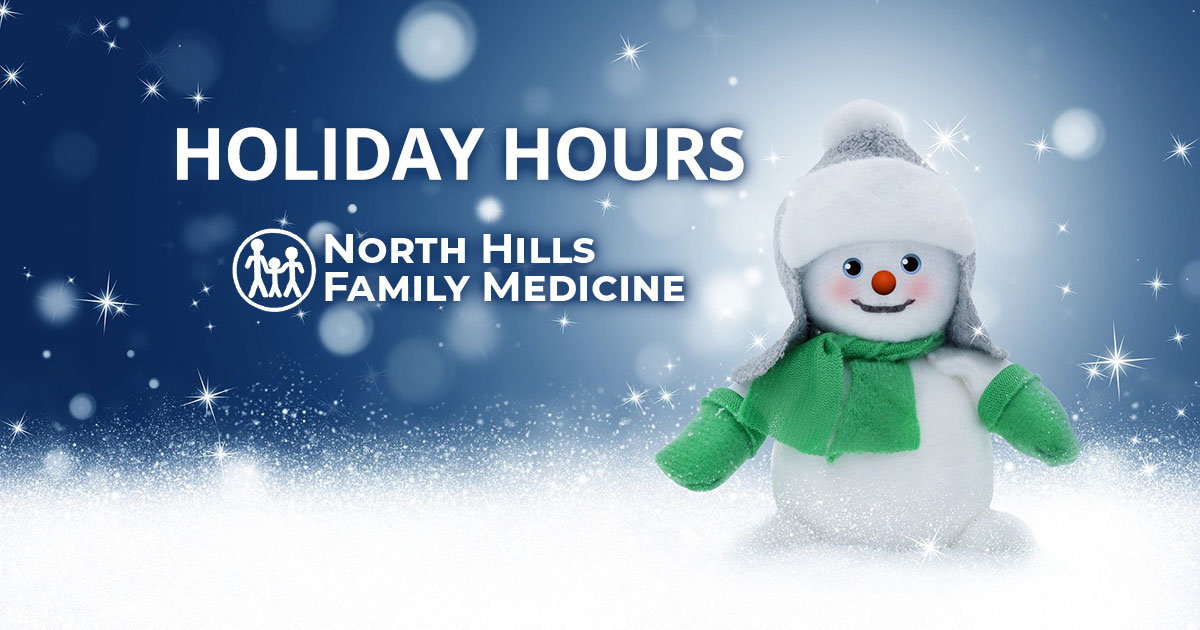 Holiday Hours NHFM