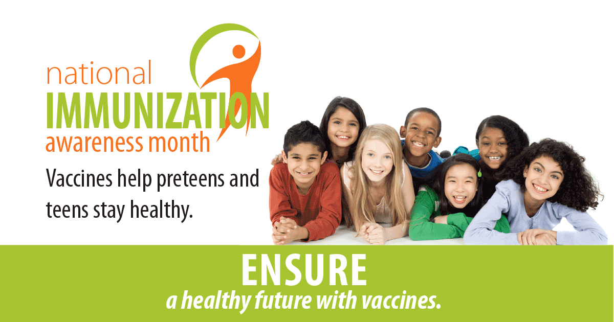 Do you have a Preteen or Teen? Protect their Future with Vaccines