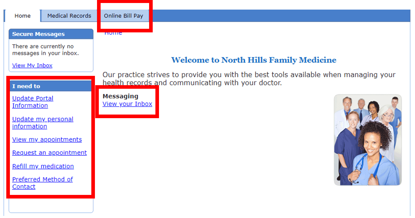 Patient Portal North Hills Family Medicine